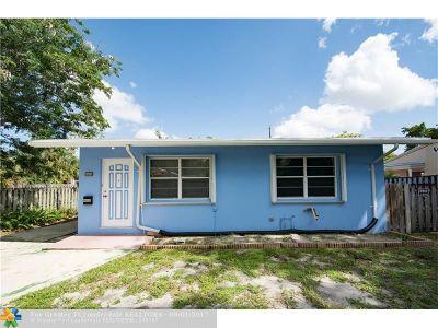 Oakland Park Single Family Home Backup Contract-Call LA: 1337 NE 40th Ct