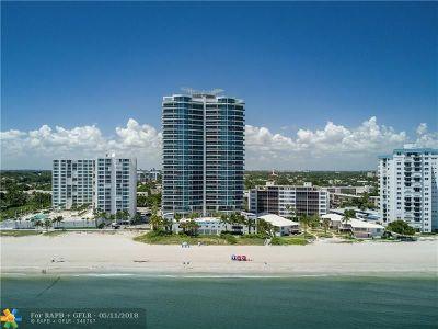 Pompano Beach Condo/Townhouse For Sale: 1600 S Ocean Blvd #1101