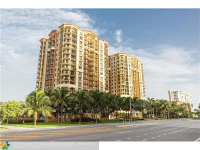 Broward County Condo/Townhouse For Sale: 2011 N Ocean Blvd #402