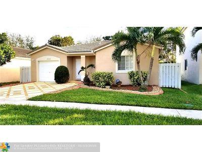 Miramar Single Family Home Backup Contract-Call LA: 10430 SW 24th Ct