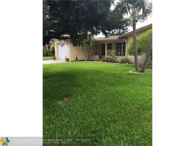 Oakland Park Single Family Home For Sale: 1880 NW 36th St