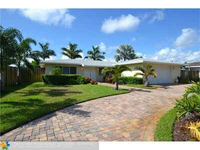 Oakland Park Single Family Home For Sale: 1800 NE 43rd St