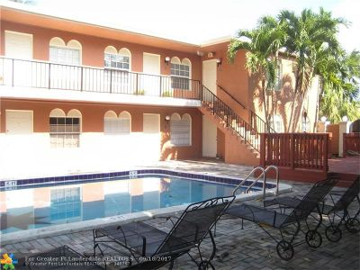 Fort Lauderdale Condo/Townhouse For Sale: 1405 Miami Rd #21
