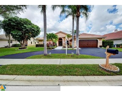 Coral Springs Single Family Home Backup Contract-Call LA: 4744 NW 96th Dr