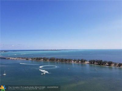 Miami Condo/Townhouse For Sale: 2101 E Brickell Ave #3305