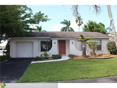 Sunrise Single Family Home Backup Contract-Call LA: 10821 NW 21st Ct