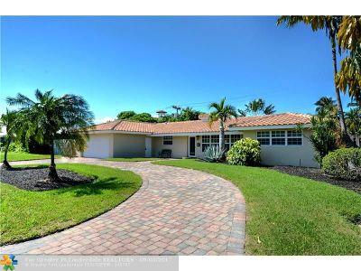 Fort Lauderdale Single Family Home For Sale: 2725 NE 34 Street