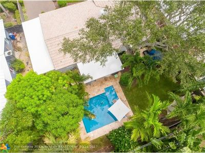 Fort Lauderdale Single Family Home For Sale: 725 NE 16th Ter
