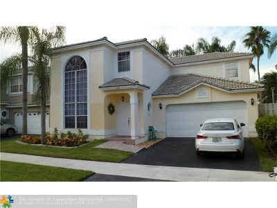 Coconut Creek Single Family Home For Sale: 4231 NW 55th Dr