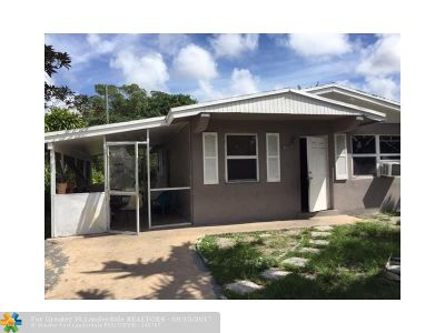 Fort Lauderdale Single Family Home For Sale: 2857 NW 7th St