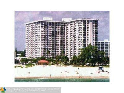 Pompano Beach Condo/Townhouse For Sale: 405 N Ocean Blvd #1523