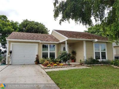 Boynton Beach Single Family Home Backup Contract-Call LA: 9112 Carma Dr