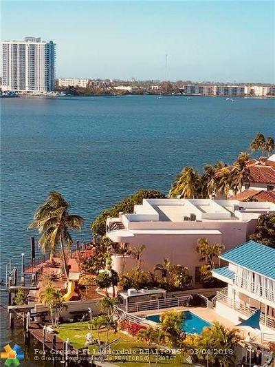 North Miami Beach Condo/Townhouse For Sale: 2903 NE 163 #1007