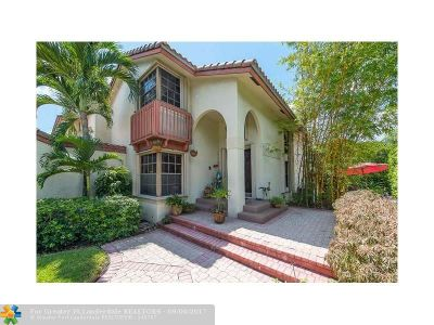 Coral Springs Single Family Home For Sale: 1884 Monte Carlo Way