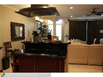 Broward County Condo/Townhouse For Sale: 1366 Bayview Dr #1366