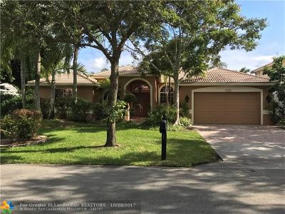 Coconut Creek Single Family Home For Sale: 5008 Mallards Pl