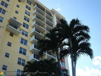 Fort Lauderdale Condo/Townhouse For Sale: 1800 N Andrews Ave #PH G
