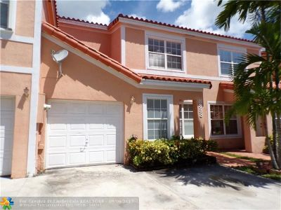 Miramar Condo/Townhouse For Sale: 8333 SW 23rd Ct #8333