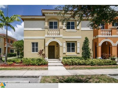 Miramar Condo/Townhouse For Sale: 8917 SW 19th St #8917