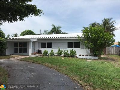 Lauderdale By The Sea Single Family Home For Sale: 1949 Windward Drive