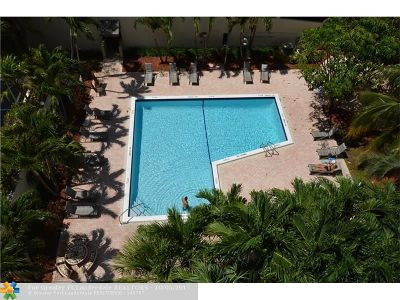 Fort Lauderdale Condo/Townhouse For Sale: 3031 N Ocean Blvd #702