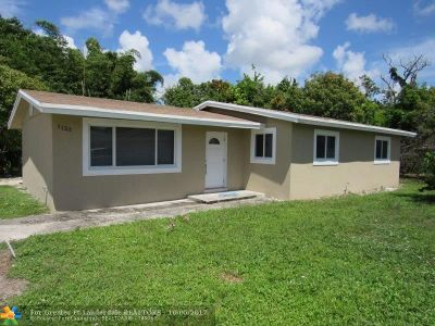 Fort Lauderdale Single Family Home For Sale: 1125 NW 16th Ct