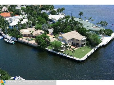 Fort Lauderdale Single Family Home For Sale: 2401 Laguna