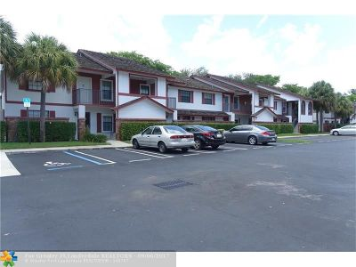 Coral Springs Condo/Townhouse For Sale: 2404 NW 89th Dr #2404