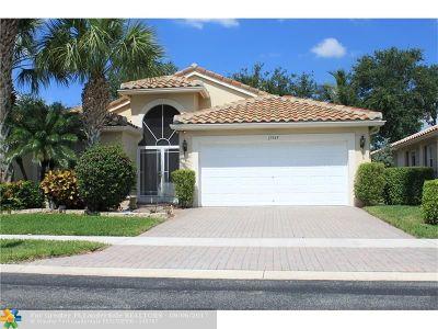 Boynton Beach Single Family Home For Sale: 11545 Bristol Wood Ave