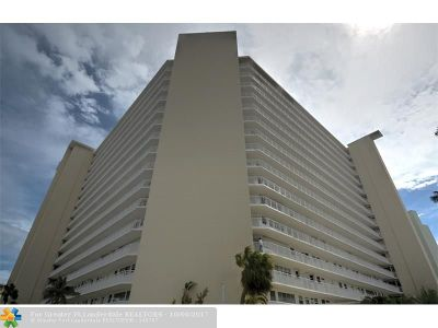 Fort Lauderdale Condo/Townhouse For Sale: 1920 S Ocean Dr. #208