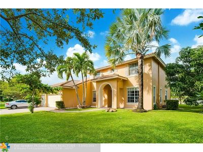 Coral Springs Single Family Home For Sale: 5010 NW 57 Terrace