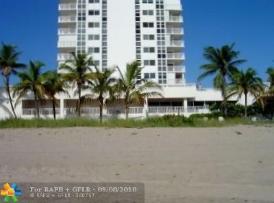 Pompano Beach Condo/Townhouse For Sale: 1370 S Ocean Blvd #605
