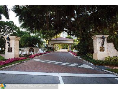 Aventura Condo/Townhouse For Sale: 4000 Island Blvd #1805