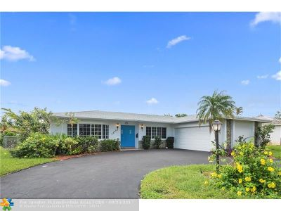 Plantation Single Family Home Backup Contract-Call LA: 1550 SW 56th Ave