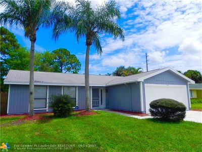 Boynton Beach Single Family Home Backup Contract-Call LA: 8316 Little Beth Dr