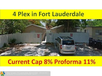 Fort Lauderdale Multi Family Home For Sale: 1104 NW 7th Ave