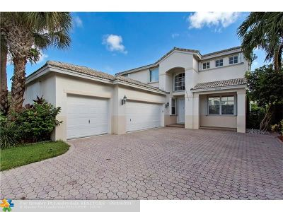 Coral Springs Single Family Home For Sale: 12119 NW 51st Pl