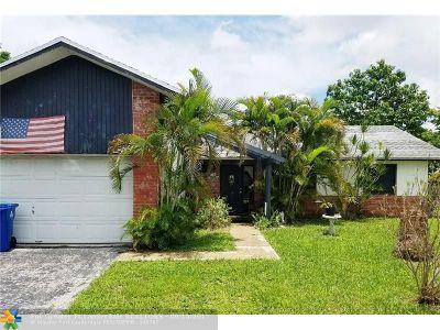 Sunrise Single Family Home Backup Contract-Call LA: 4654 NW 93rd Ter