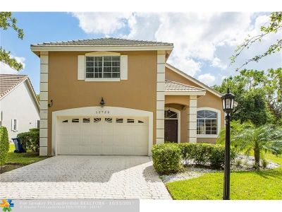 Coral Springs Single Family Home For Sale: 12723 NW 21st Pl