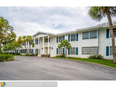 Fort Lauderdale Condo/Townhouse For Sale: 2261 NE 67th St #1807