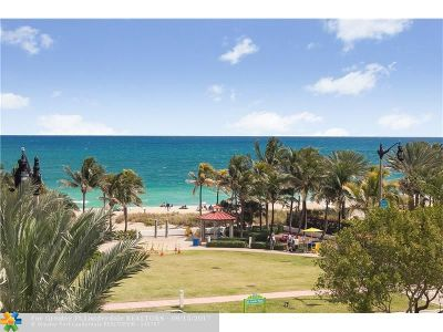 Lauderdale By The Sea Condo/Townhouse For Sale: 4511 El Mar Dr #404