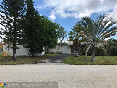 Fort Lauderdale Single Family Home For Sale: 1811 NE 57th St