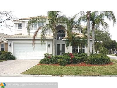 Coral Springs Single Family Home Backup Contract-Call LA: 12148 Glenmore Dr