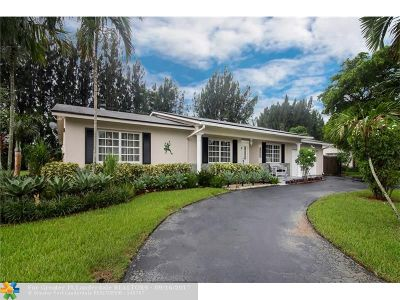 Plantation Single Family Home For Sale: 5740 SW 9th St