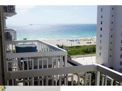 Miami Beach Condo/Townhouse For Sale: 401 Ocean Dr #808