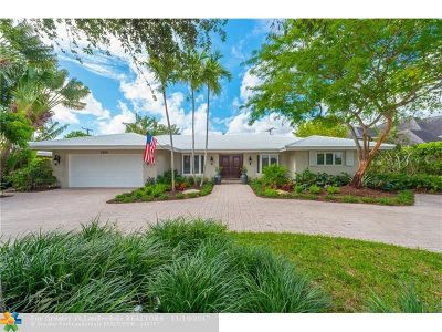 Fort Lauderdale Single Family Home For Sale: 2608 NE 37th Dr