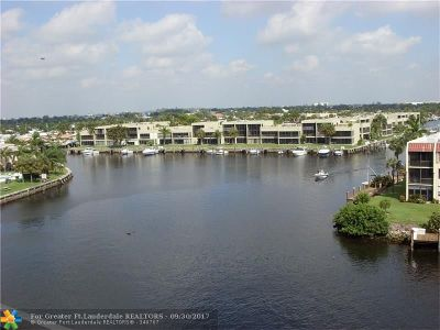 Pompano Beach Condo/Townhouse For Sale: 801 S Federal Hwy #420