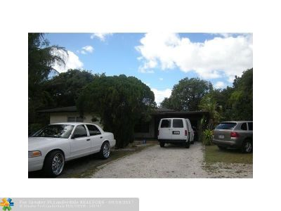 Fort Lauderdale Single Family Home For Sale: 1427 NW 7th Ter