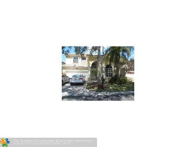 Coral Springs Rental For Rent: 1020 NW 117th Ave