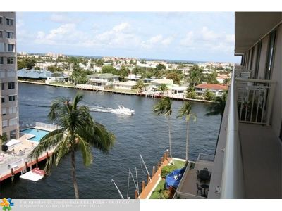 Fort Lauderdale Condo/Townhouse For Sale: 3100 NE 48th St #807
